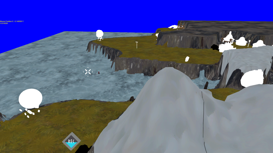 The terrain in game